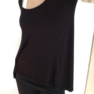 Free People Stretchy Black Longsleeve